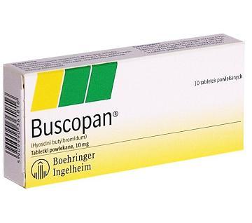 دواعي استعمال بسكوبان Buscopan لعلاج القولون العصبي - بوسكوبان أقراص