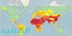 أثر تلوث البيئة في خريطة توزيع السكان
