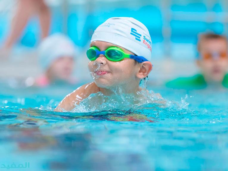 معلومات عن السباحة للاطفال