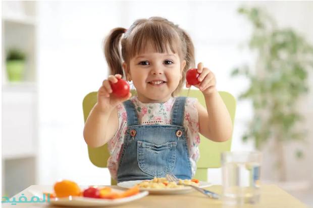 فوائد الطعام الصحي للطفل