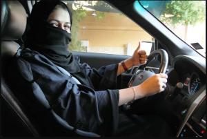 مدرسة تعليم القيادة للنساء في جدة