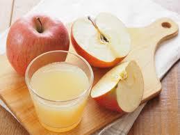 عصير التفاح لتنظيف القولون